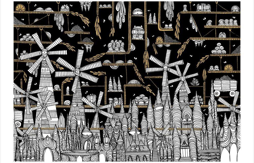 """Una nuova versione illustrata de """"Le città invisibili"""" di Italo Calvino"""